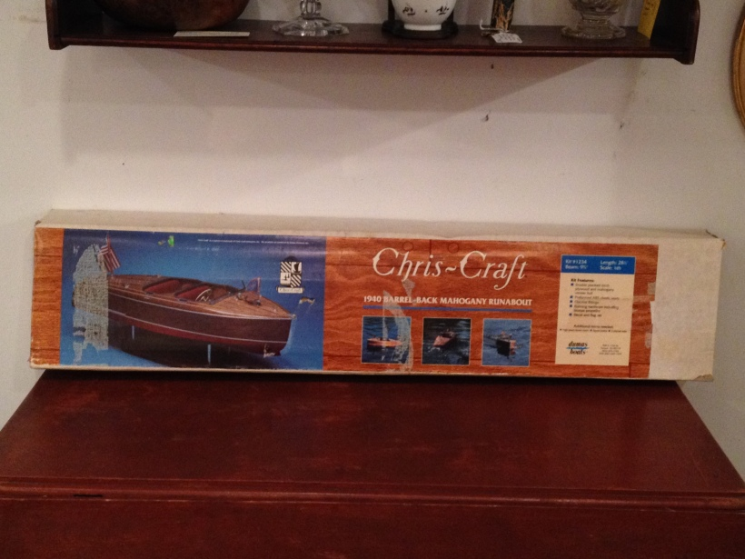 chris craft box